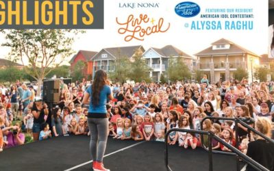 AMERICAN IDOL CONTESTANT ALYSSA RAGHU DRAWS A MASSIVE CROWD AT HOMETOWN MINI-CONCERT